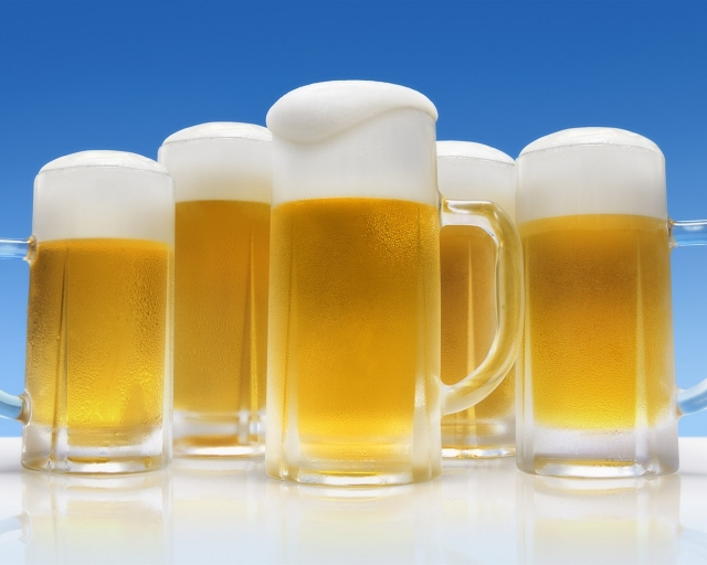ビールの贅沢湯