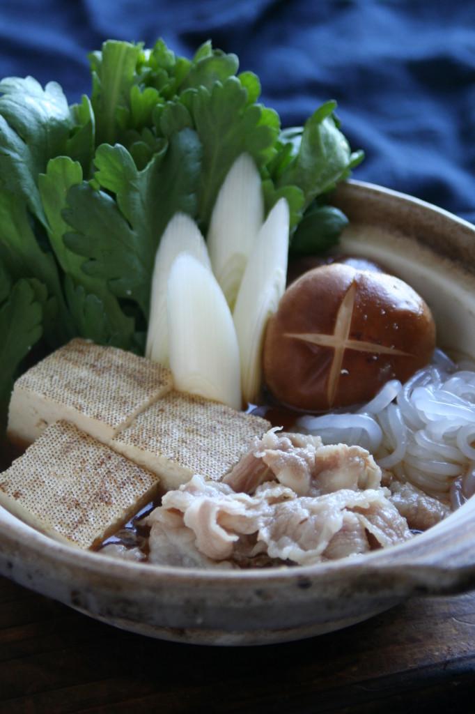 国産和牛のすき焼き風鍋