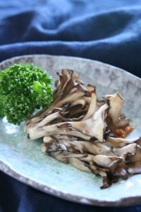 舞茸の味噌焼き